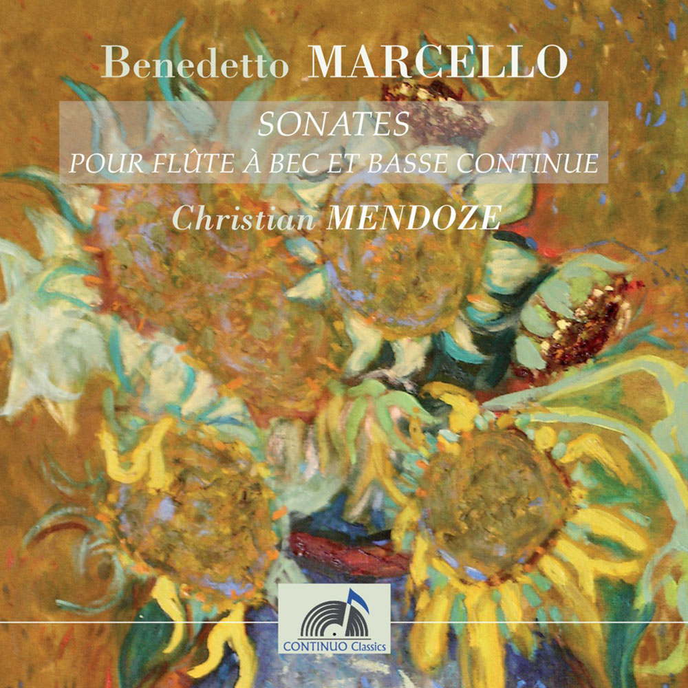 MARCELLO - Sonates pour flûte à bec et basse continue Op.2 - Vol 1