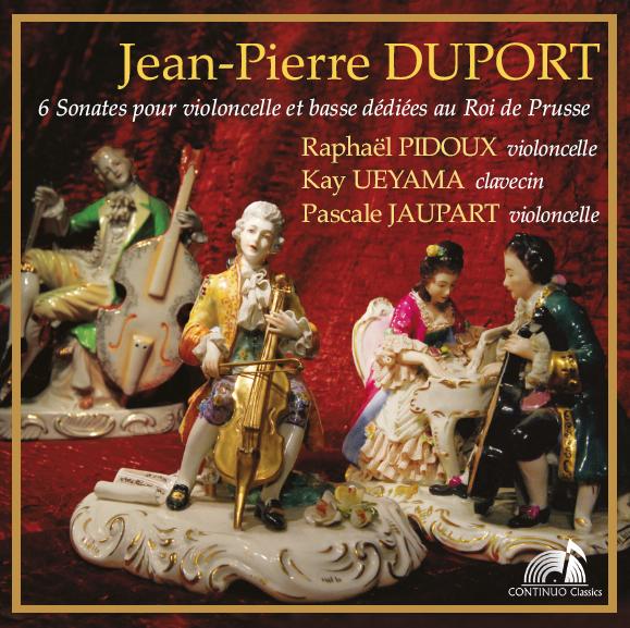 DUPORT - Six Sonates pour violoncelle et basse dédiées au Roi de Prusse