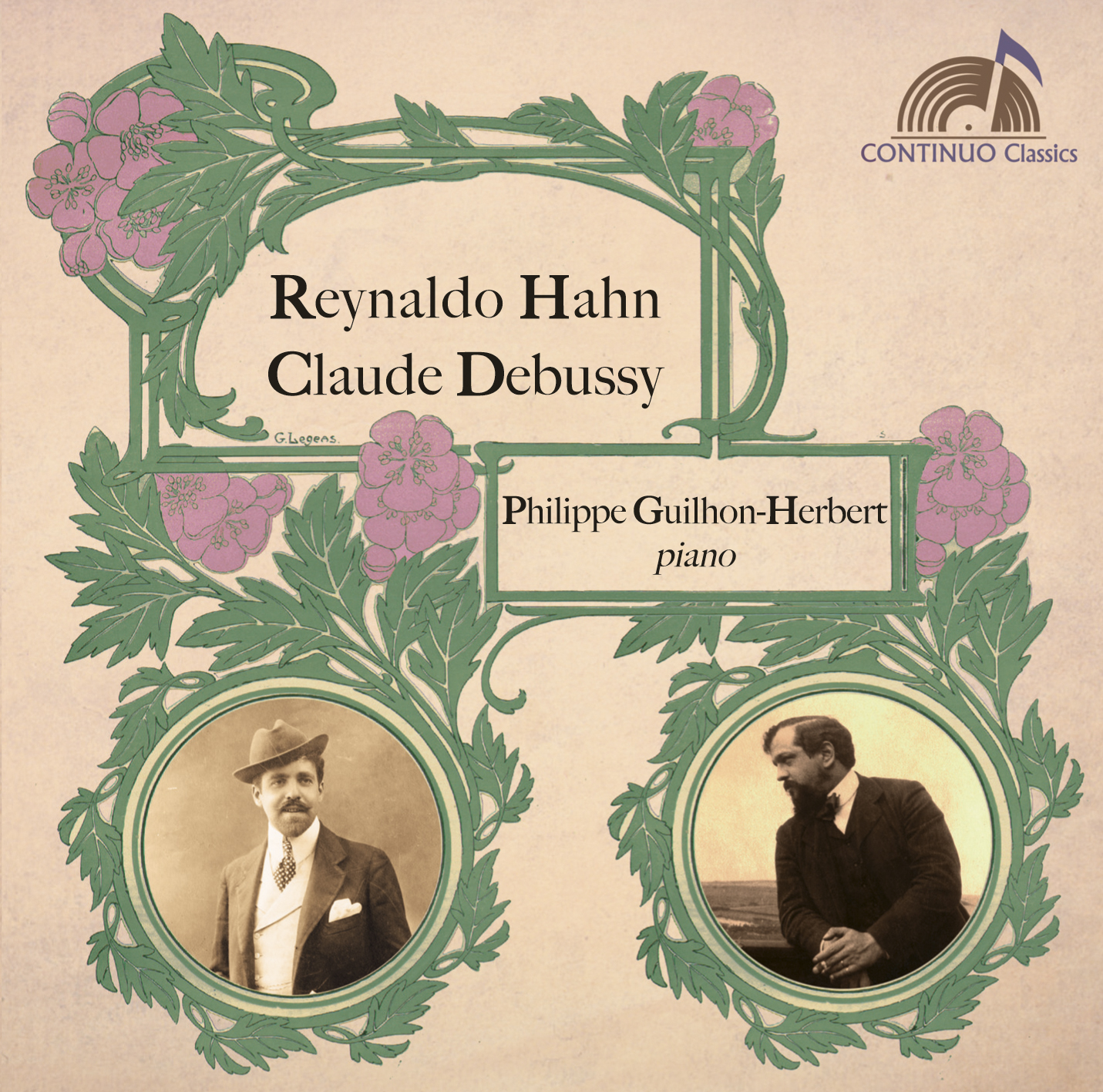 Hahn - Debussy : Oeuvres pour piano