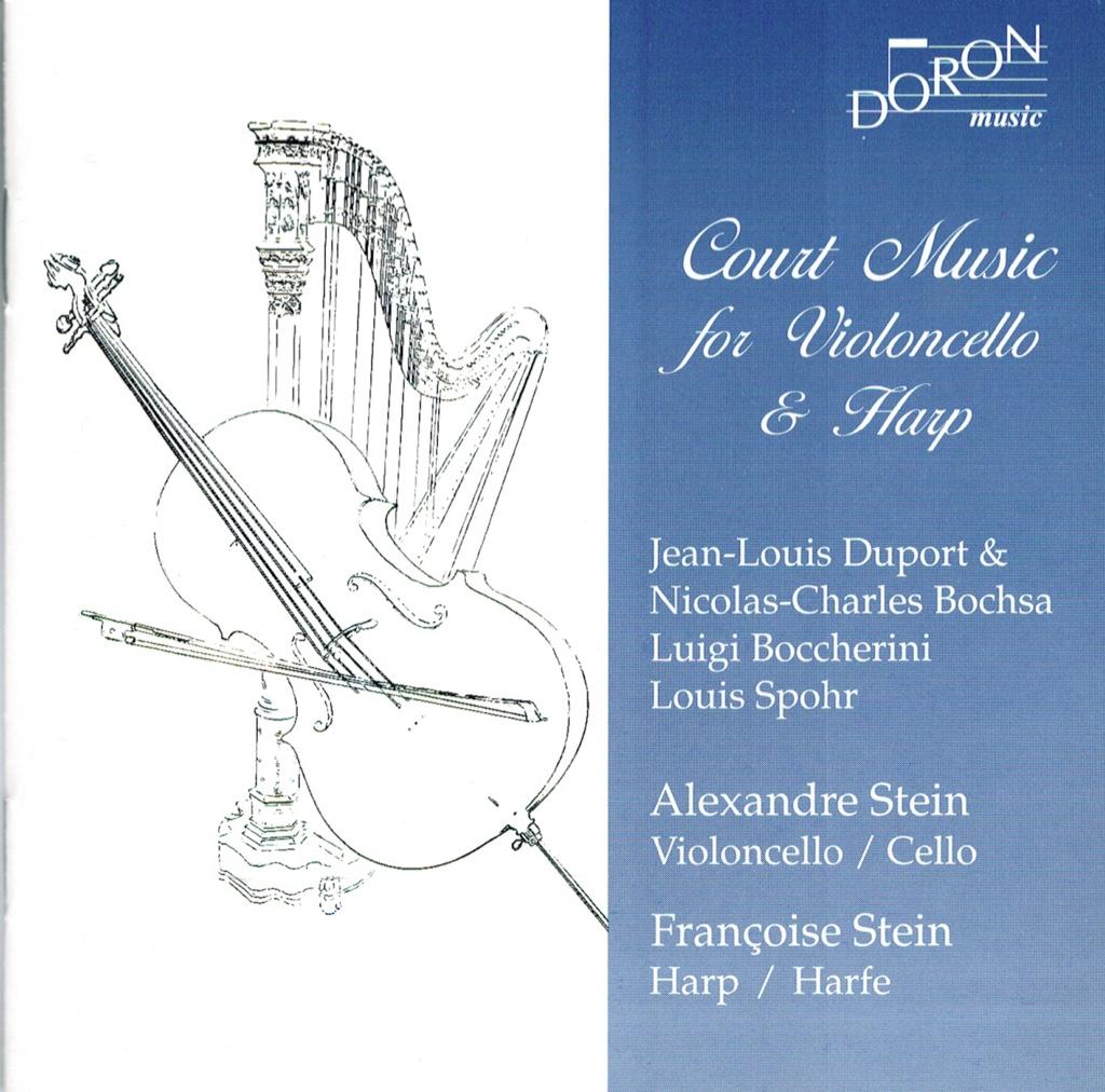 Musique à la Cour pour violoncelle et Harpe