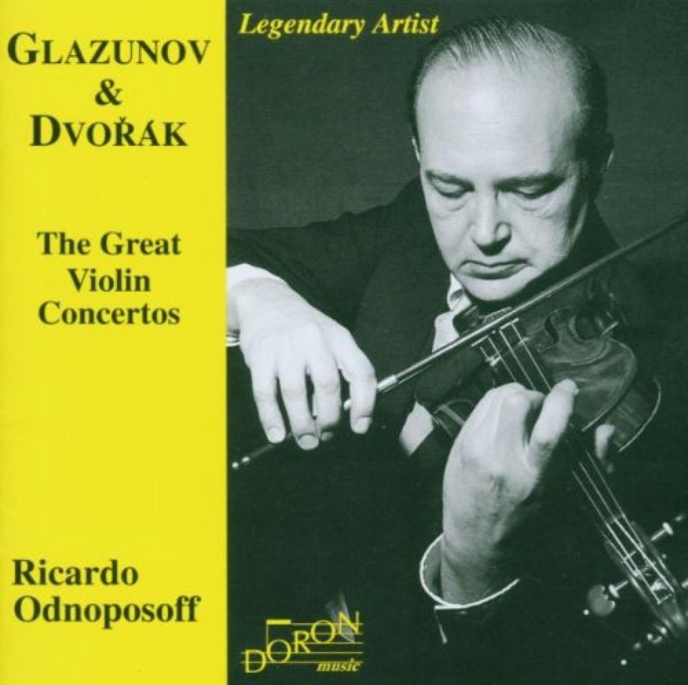 Glazounov - Dvorak : Les Grands Concertos pour Violon