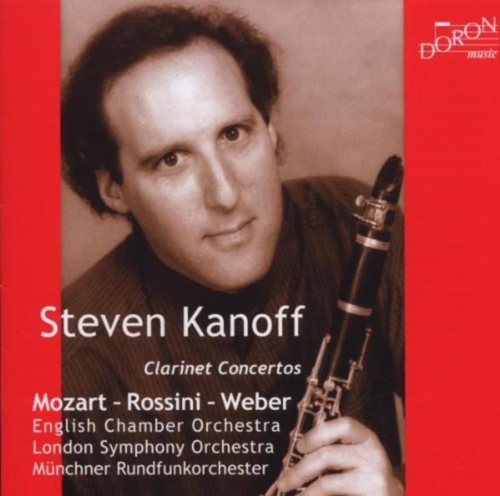 Mozart - Rossini - Weber : Concertos pour clarinette