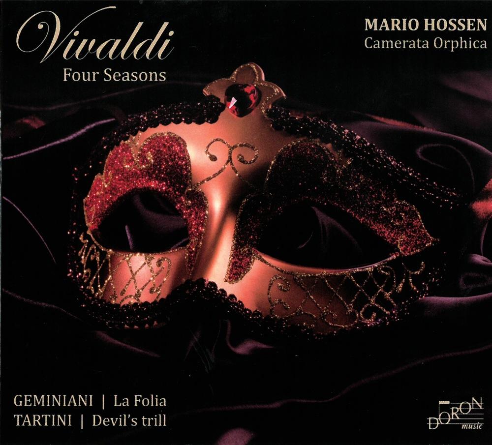 Vivaldi - Geminiani - Tartini : Quatre Saisons, La Folia, Trilles du Diable