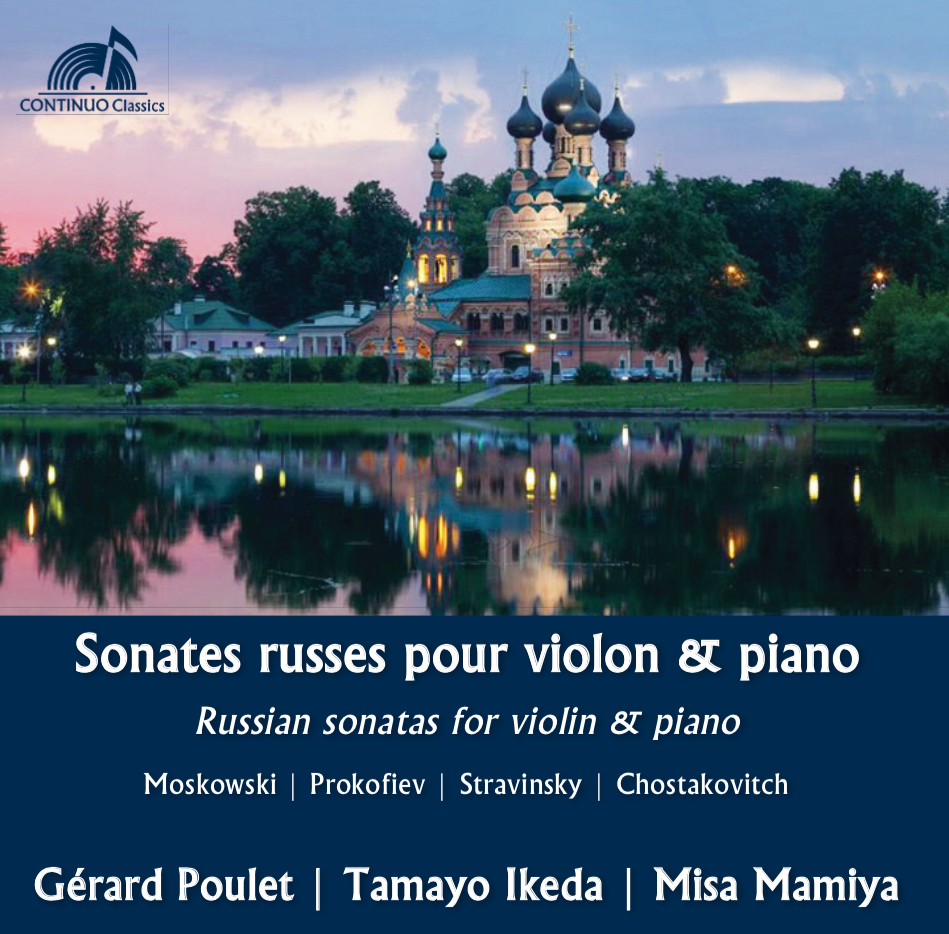 Russian sonatas for violin & piano